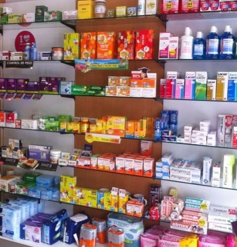 Interior. Farmacia Alfafar