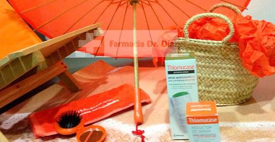 Combate la celulitis con los productos de Thiomucase y llévate un capazo de regalo