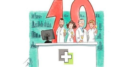 La Farmacia Doctor Díaz de Alfafar cumple 10 años