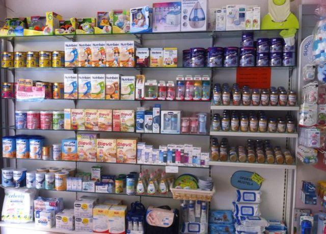 Interior Bebe Farmacia Benifaio