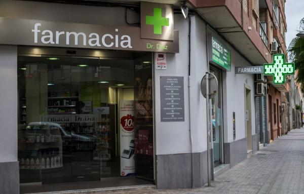 Fachada Farmacia Alfafar