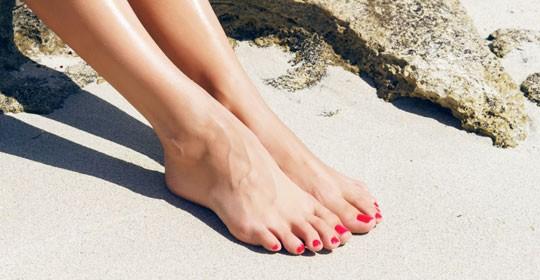 Luce pies bonitos y sanos con los mejores productos para el cuidado podal