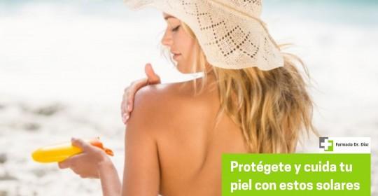 Protege y cuida tu piel del sol con nuestros productos solares