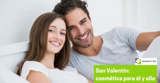 Enamora en San Valentín con cosmética para él y para ella