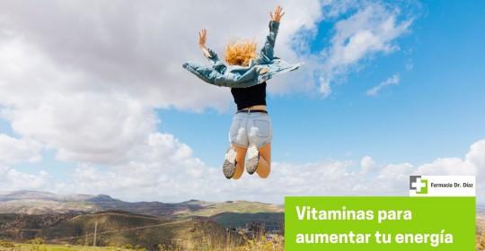 Dale un empujón a tu energía con las vitaminas adecuadas