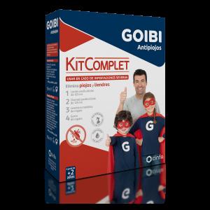 Kit Completo de Antipiojos de Goibi